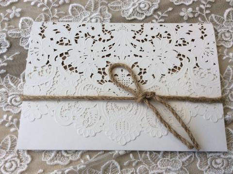 Προσκλητήρια γάμου laser cut -Γ1819 - <p>Προσκλητήριο γάμου θήκη laser cut.</p>...