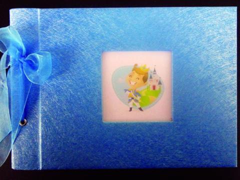 Βιβλία Ευχών Βάπτισης -Πρίγκιπας - <p>Βιβλίο ευχών βάπτισης με θέμα τον πρίγκιπα.</p>...