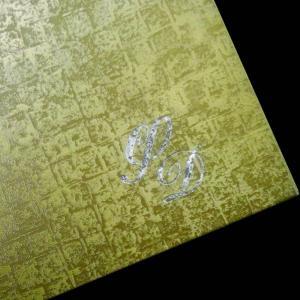 Δίπτυχο Προσκλητήριο Γάμου -27 - <p>Μοναδικό δίπτυχο προκλητήριο γάμου από δερματίνη mosaic gold.</p>...