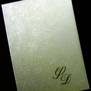 Δίπτυχο Προσκλητήριο Γάμου -31 - <p>Μοναδικό δίπτυχο προκλητήριο γάμου από δερματίνη sand white.</p>...