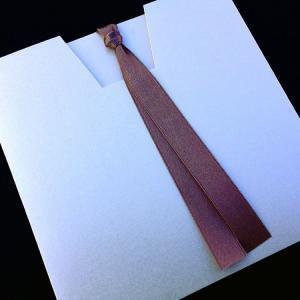 Προσκλητήριο Γάμου -Γ1425 vintage - <p>Συρταρωτό vintage προσκλητήριο από χαρτί στο χρώμα της πέρλας.</p>...