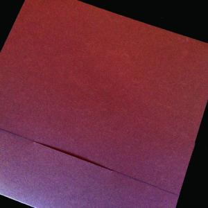 Πολυτελές Προσκλητήριο Γάμου -lux33 - <p>Κουμπωτό προσκλητήριo γάμου 21x21cm. από ιταλικό ραβδωτό χαρτί σε γήινες αποχρώσεις.</p>...