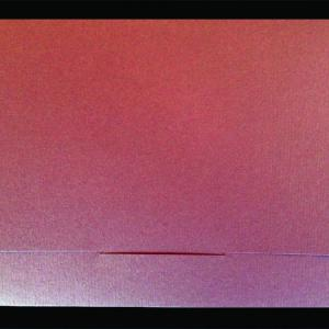 Πολυτελές Προσκλητήριο Γάμου -lux48 - <p>Kουμπωτό προσκλητήριo γάμου 16x22cm. από ραβδωτό χαρτί σε γήινες αποχρώσεις.</p>...