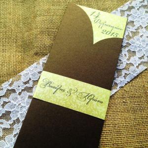 Προσκλητήριο Γάμου Vintage -Γ1506 - <p>Βίνταζ συρταρωτό προσκλητήριο γάμου από metal bronze χαρτί σε γήινες αποχρώσεις και φάσα με τα ονόματα τους ζεύγους.</p>...