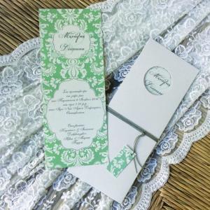 Προσκλητήρια γάμου 2016 -Γ1661 - <p>Rustic συρταρωτό προσκλητήριο γάμου με λαχούρ λεπτομέρειες από οικολογικό χαρτί!</p>...