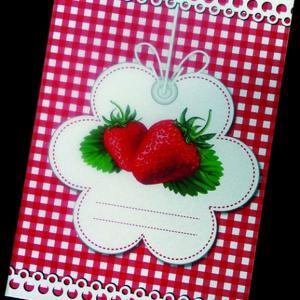 Προσκλητήρια Βάπτισης Δίπτυχα Βιβλία -φράουλες - <p>Μοναδικό δίπτυχο προσκλητήριο βάπτισης βιβλιαράκι με θέμα την φράουλα!</p>...