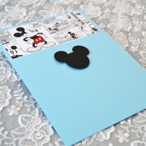 Προσκλητήρια βάπτισης πρωτότυπα -Β1738 - <p>Εντυπωσιακό προσκλητήριο βάπτισης με θέμα τον mickey mouse. Πρωτότυπη κάρτα comic    γαλάζιος φάκελος με τον mickey!</p>...